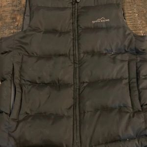 Black Eddie Bauer Puffy Vest